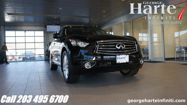 Certified Pre-Owned 2015 INFINITI QX70 Deluxe Touring Package
